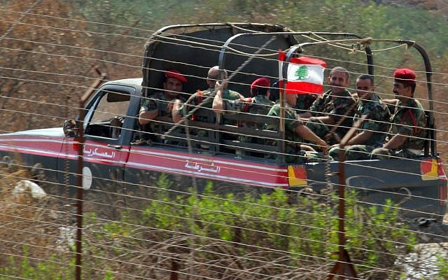 Lebanese fighters patrolling Southern Lebanon in 2006. (photo credit:Haim Azulay /Flash90)