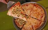 Illustrative image of pizza (Yossi Zamir/Flash90)