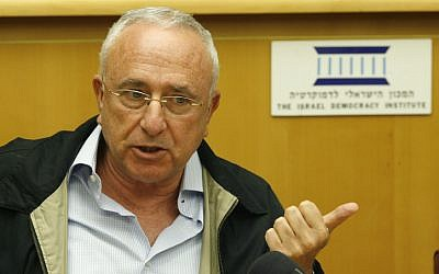 Amnon Lipkin-Shahak, a former Chief of Staff of the Israel Defense Forces, died on Wednesday at age 68 (photo credit: Michal Fattal/Flash90)