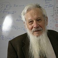 Professor Yisrael Robert Aumann (photo credit: Flash90)