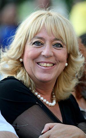 Netanya Mayor Miriam Feirberg (photo credit: Moshe Shai/Flash90)