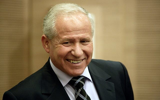 MK Avi Dichter (photo credit: Abir Sultan/Flash90)