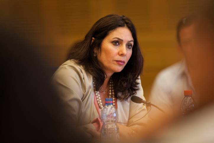 MK Miri Regev participates in Knesset committee in May. (photo credit: Uri Lenz/FLASH90)