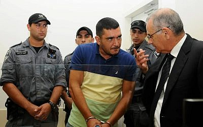 Shushan Baraby appears in court, August 2012. (photo credit: Yossi Zeliger/Flash90)