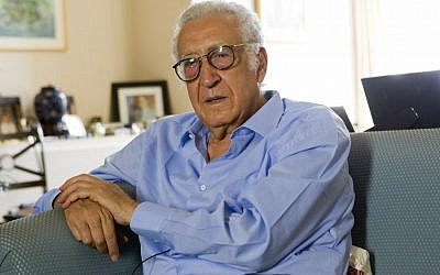 Lakhdar Brahimi, former Algerian foreign affairs minister and new special envoy to Syria (photo credit/Jacques Brinon/AP)