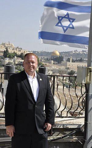 Halloran in Jerusalem's Old City. (photo credit: Itzik Nissim)