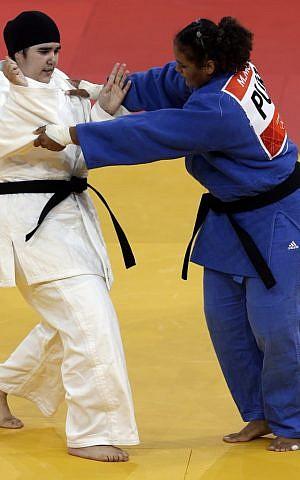 Saudi athlete's judo loss is a landmark victory for Muslim