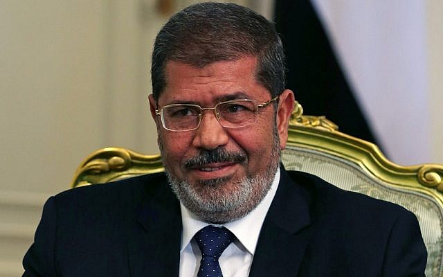 Egyptian President Mohammed Morsi (photo credit: AP/Mark Wilson)