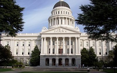 The State Capitol Building of California in Sacramento (photo credit: Courtesy wiki commons)