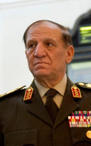 Former Egyptian chief of staff Lt. Gen. Sami Anan in February 2012. (photo credit: CC BY FishInWater, Wikimedia Commons)