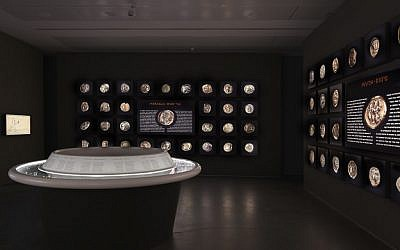The White Gold exhibition room (Courtesy The Israel Museum, Jerusalem, by Elie Posner)