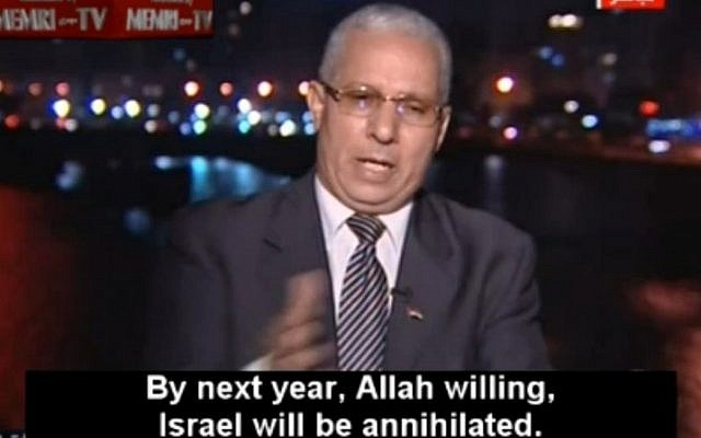 Gamal Zahran (photo credit: MEMRI TV screenshot)