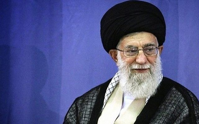Iran's supreme leader, Ayatollah Ali Khamenei (photo credit: @khamenei_ir/Instagram/File)