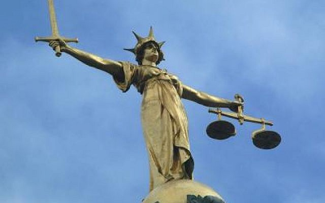 Lady Justice, Old Bailey, London (photo credit: cc-by-sa/Wikipedia)