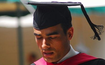 Graduating Harvard Business School (photo credit: Courtesy)