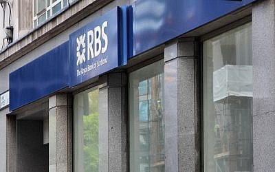 (Royal Bank of Scotland  via Shutterstock)