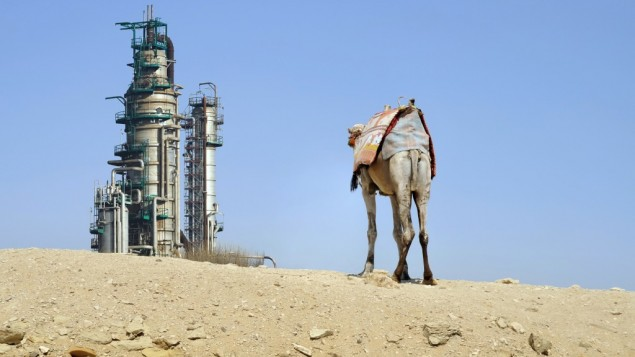 A Saudi Arabian oil facility (Photo credit: Shutterstock images)