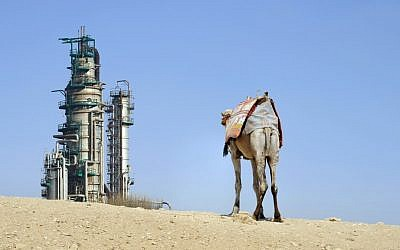 Illustrative photo of a Saudi Arabian oil facility. (Shutterstock images)