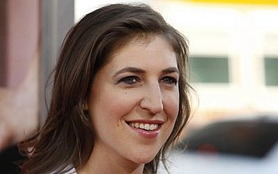 Mayim Bialik loves Elvis Costello. And her husband.
