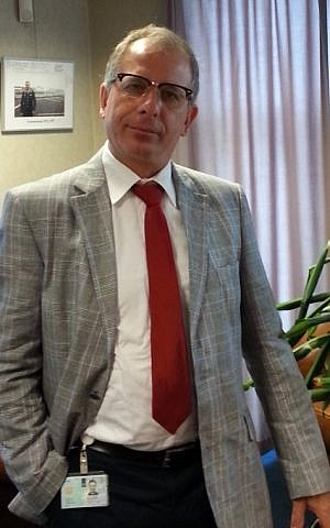 MP Wim Kortenhoeven (photo credit: David Suurland)