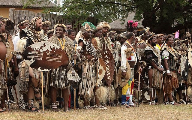 The Zulu nation's annual Royal Reed Dance festival (photo credit: CC BY 2.0 Retlaw Snellac, via Flickr)