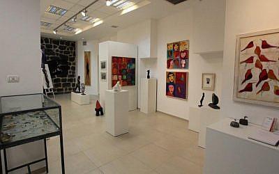 Amdur Fine Gallery, Tiberias (photo credit: Courtesy, Azoulay PR)