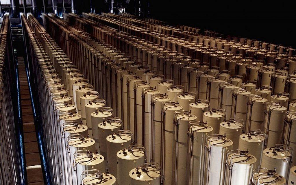 Iran said accelerating uranium centrifuge production, anticipating deal collapse