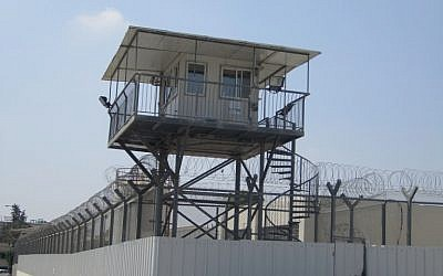 Ramla Prison, the setting for the 'Lockup' series' look at the Israeli prison system. (photo credit: Matt Lebovic)