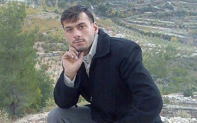FSA fighter Abdulfatteh Sayu, from Lattakia, is believed to have been killed fighting Assad's forces last week (photo credit: Syrian Uprising 2011 Information Centre)