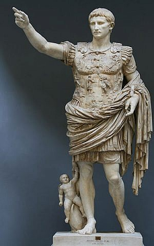 Augustus (photo credit: CC-BY-SA Till Niermann, Wikimedia Commons)