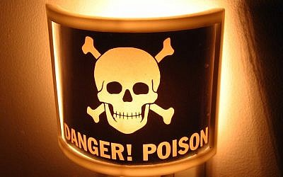 International poison symbol (photo credit: CC BY Matt Brubek/Flickr)