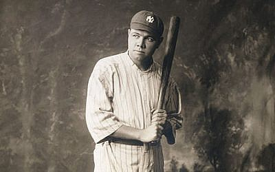 Babe Ruth (photo credit: Wikimedia Commons)