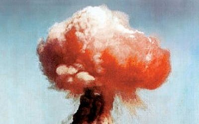 A 14-kiloton atomic explosion, from a 1951 US nuclear test at the Nevada Test Site (illustrative photo: US/Nevada Site Office Photo Library)