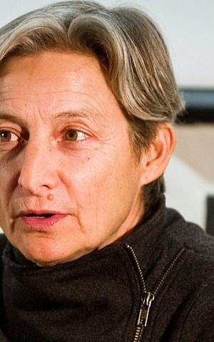 Israel critic Judith Butler. (photo credit: CC-BY Andrew Rusk, flickr)
