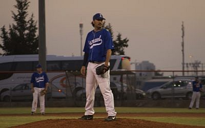 Israeli pitcher Shlomo Lipetz. (photo credit: courtesy)