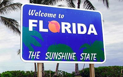 A sign for Florida. (photo credit: CC BY 2.0/Flickr/DonkeyHotey)