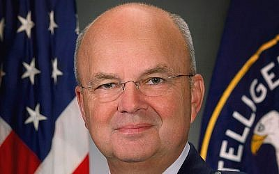Michael Hayden during his tenure as CIA head (photo credit CC BY CIA/Wikipedia)