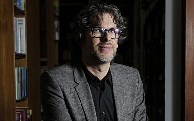 Author Michael Chabon in New York in 2010. (AP Photo/Seth Wenig)