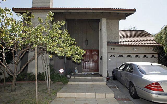 "The suburban Los Angeles home of Nakoula Basseley Nakoula, the man behind the anti-Islam film ""Innocence of Muslims"" (photo credit: AP/Reed Saxon)"
