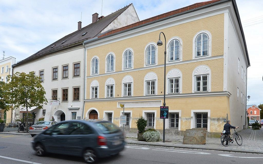 Residents of Hitler's hometown fear that his former house could become a pilgrimage site for neo-Nazis if sold to the wrong buyer. (Kerstin Joensson/AP)