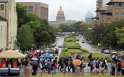 University of Texas, September 14, 2015. (AP/Statesman.com, Ricardo B. Brazziell)