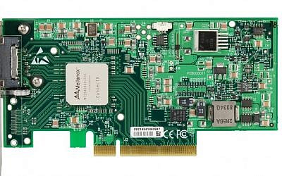Mellanox ConnectX IB Adapter Card (Single-Port) (Photo credit: Courtesy)