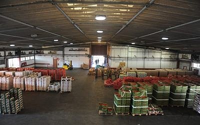 Tons of holiday foods ready to be shipped to IDF bases across the country (photo credit: courtesy IDF)