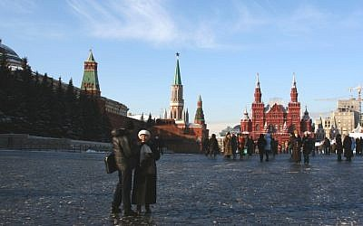 Moscow's Red Square (photo credit: Anna Kaplan/Flash90/File)