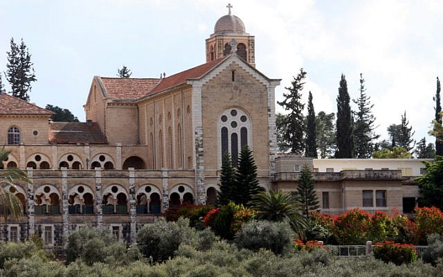 The building of the Trappist Monastery in Latrun. (Photo credit: Yossi Zamir/Flash90)