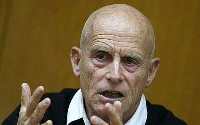 Former MK and Shin Bet chief Ami Ayaon (photo credit: Olivier Fitoussi/Flash90)