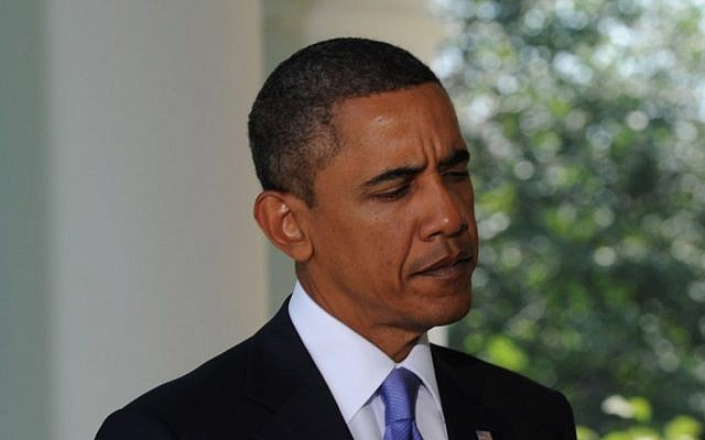 US President Barack Obama (photo credit: Moshe Milner/GPO/Flash90)