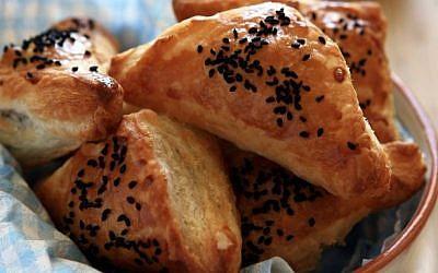 Some delicious looking burekas (photo credit: Liron Almog/Flash90)