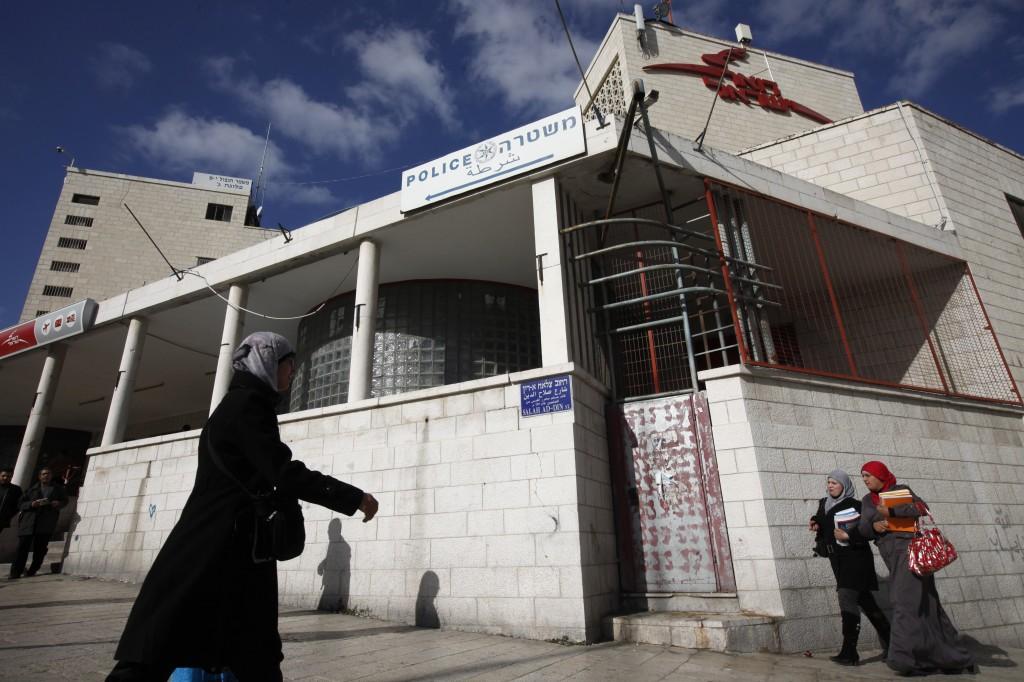 The Shalem police station in Jerusalem. (photo credit: Miriam Alster/Flash90)