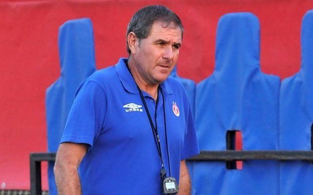 Israel national team's head coach Eli Gutman (photo credit:Flash90)